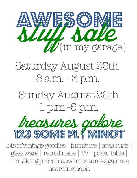 How to write garage sale ad jpg 791x1024