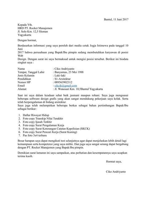 Contoh resume mintak kerja jpg 1653x2339